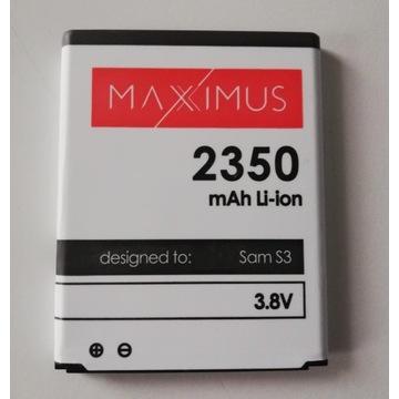 Bateria MAXXIMUS Samsung i9300 GALAXY S3 2350 mAh