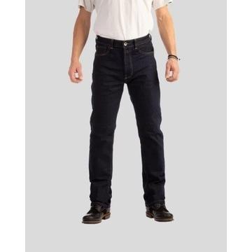 Spodnie Motocyklowe Rokkertech Raw Jeans Straight