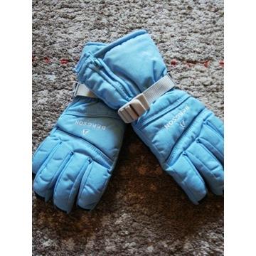 Rękawice Bergson M narciarskie