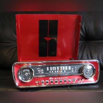 Gramofon Ion Mustang LP RED