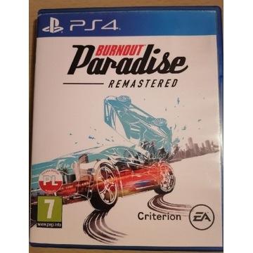 PS4 Gra Burnout Paradise Remastered j. PL