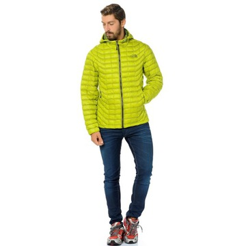 THE NORTH FACE THERMOBALL HOODIE VENOM YELLOW L/XL