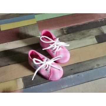 Buciki paputki różowe dla dziewczynki 18