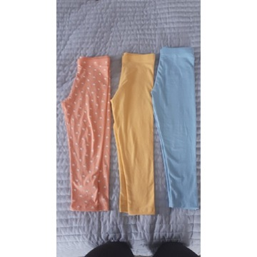 3 x legginsy george 110 cm