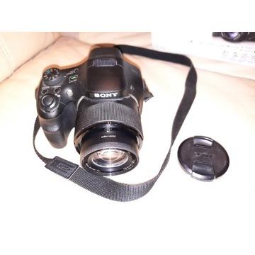 SONY Cyber-shot DSC-HX300, x50 zoom, pełny komplet