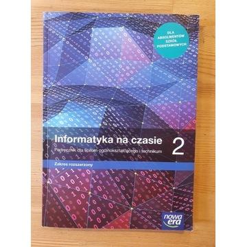 Podręcznik Informatyka na czasie 2 z.rozszerzony