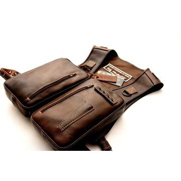 Kamizelka-chest pack wędkarski