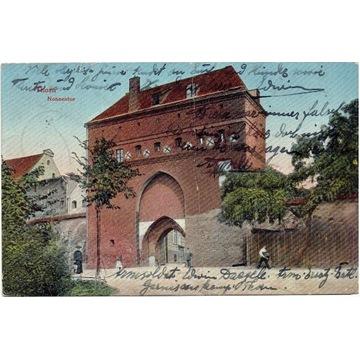 Toruń, Thorn, Brama klasztorna, Nonnentor 1916 rok