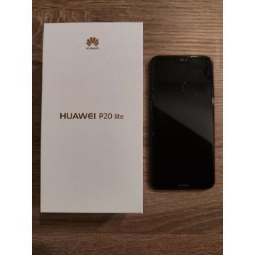 Huawei P20 lite z oryginalnymi foliami przód/tył
