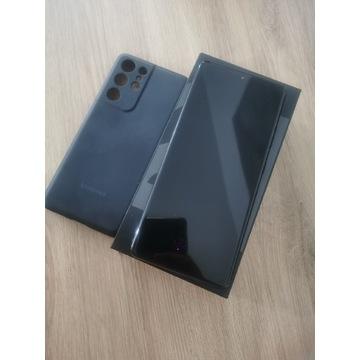 Samsung Galaxy S21 ultra + oryg etui + ładowarka