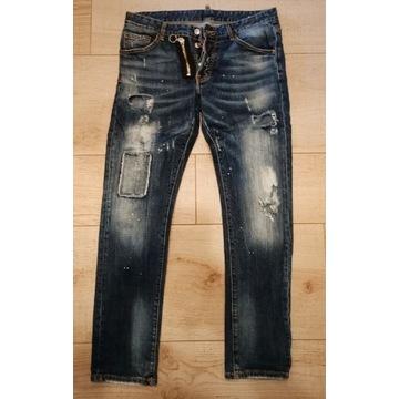 Spodnie DSQUARED2 rozmiar 50