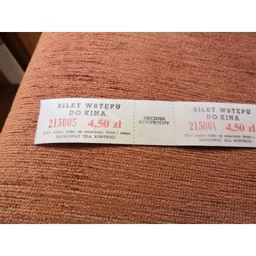 Stare bilety do kina (komplet) - kolekcje PRL-u
