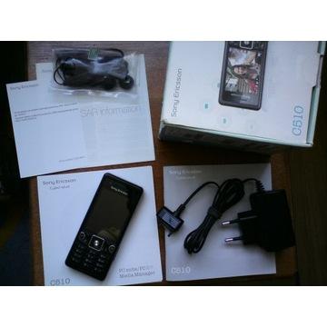 Klawiszowy telefon Sony Ericsson C510 bez simlocka