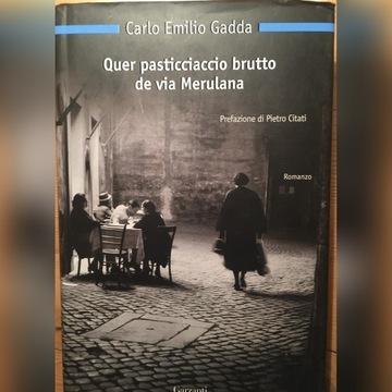 Carlo Emilio Gadda po włosku
