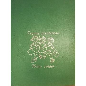 TANIO Okładka na dyplom zakończenia przedszkola