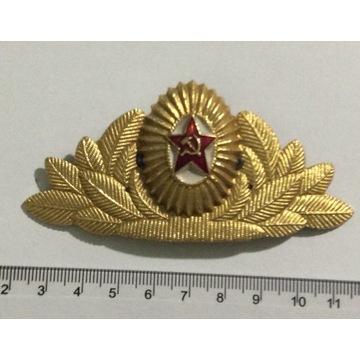 ZSRR odznaka na czapkę 4