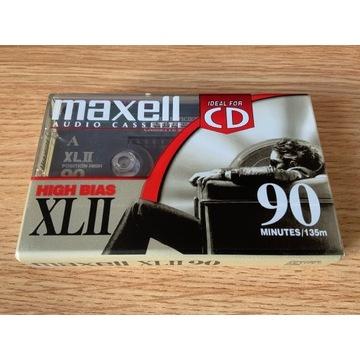 Kaseta Maxell XLII 90 - NOS, folia