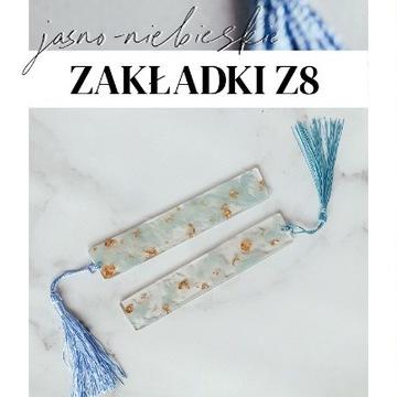 Jasno-niebieskia zakładka Z8 Holika