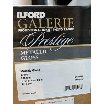 Papier ilford metalic gloss