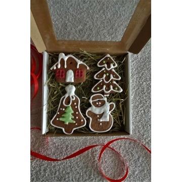 Pierniki pierniczki świąteczne zestaw 4 sztuki