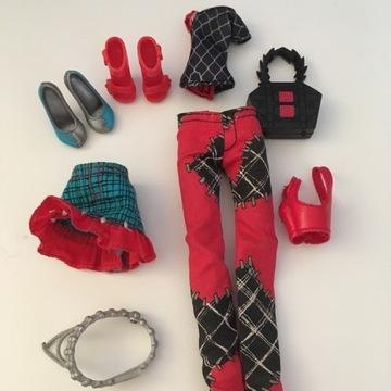 Ubrania lalki Frankie Monster High