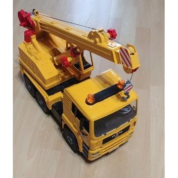 BRUDER dźwig Crane truck MAN