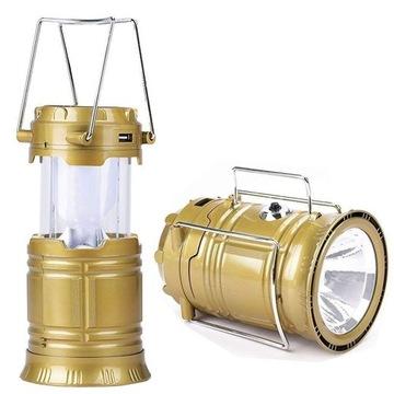 ROZKŁADANA LAMPA KEMPINGOWA. LICYTACJA OD 1zł