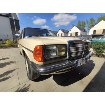 Mercedes W 123 w stanie idealnym