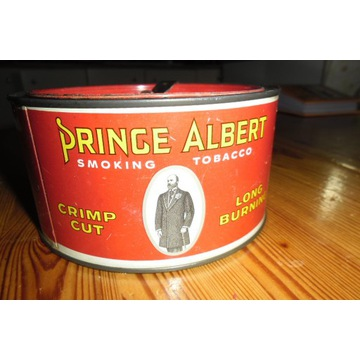 Puszka po tytoniu PRINCE ALBERT SMOKING TOBACCO