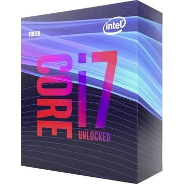 Procesor Intel i7-9700K, gwarancja