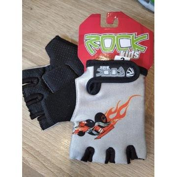 Rękawiczki rowerowe dziecięce  Rock kids 2