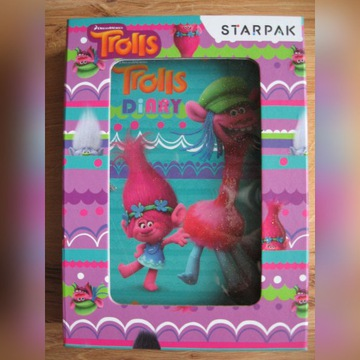 Zabawka - Pamiętnik Trolls Diary - STARPAK