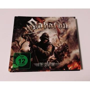 SABATON- The Last Stand, 2016 CD+ DVD+ gitarka