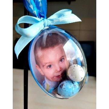Jajko akrylowe ze zdjęciem