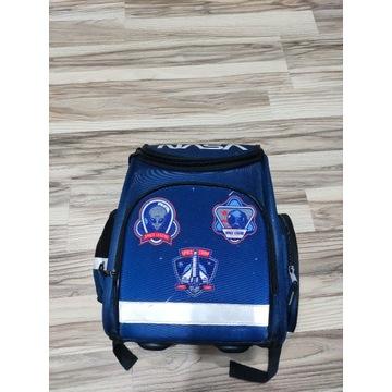 Plecak szkolny motyw NASA usztywniony Stan BDB