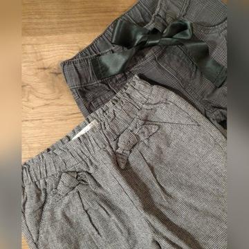 2 sztuki rozmiar 98 ciepłe spodnie Zara i H&M