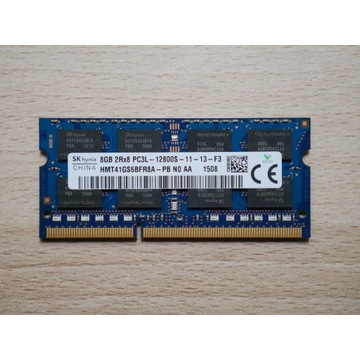 Pamięć 8GB DDR3 PC3L-12800S HMT41GS6BFR8A