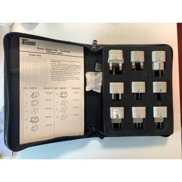 Zestaw wtyczek dla podróżnika Power Adapter KIT