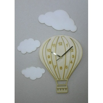 Zegar ścienny balon