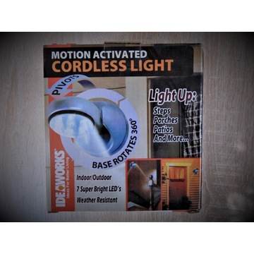 Lampka z czujnikiem ruchu