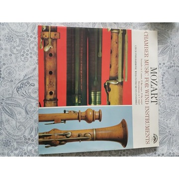 Mozart chamber music for wind instruments