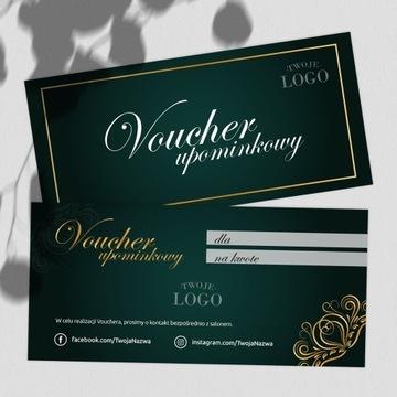 Vouchery podarunkowe dla firmy/salonu z Twoim logo