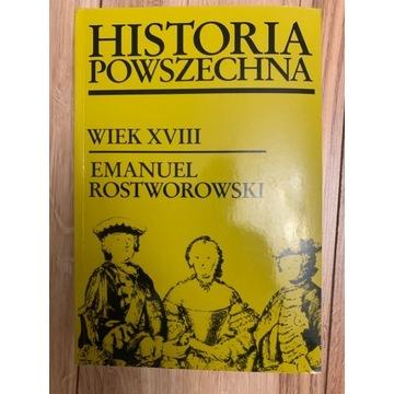 Emanuel Rostworowski Historia Powszechna Wiek 18