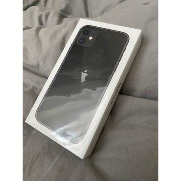 Iphone 11 64GB Black Czarny Nowy Folia