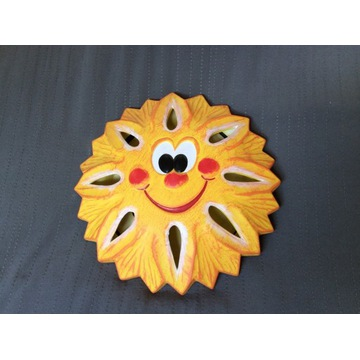 Kinkiet Cleoni słońce żółte, opakowanie zastępcze
