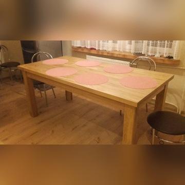 Stół drewniany do jadalni kuchenny solidny masywny