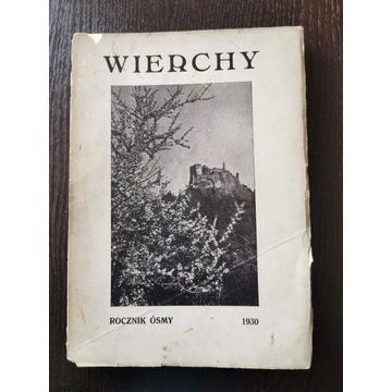 Wierchy ROCZNIK ÓSMY 1930