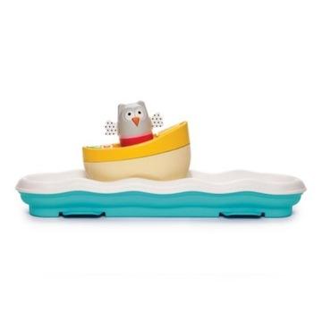Taf toys 0+ muzyczna łódeczka sowa
