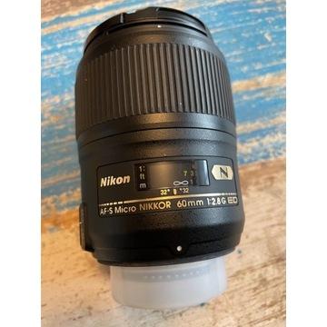 Obiektyw Nikkor AF-S Micro 60mm f/2,8G ED