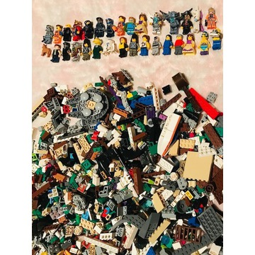 LEGO WIELKI MIX KLOCKÓW I FIGUREK